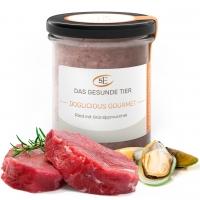 DOGLICIOUS GOURMET - Rind mit Grünlippmuschel - 300 g